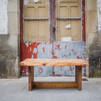 Mesa café Glasgow de Osso Ebanistería Creativa