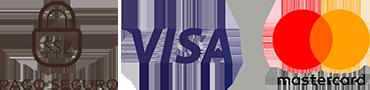 Logotipos Visa y Mastercard